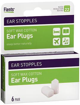 EAR STOPPLES 6PR   FLENT   122