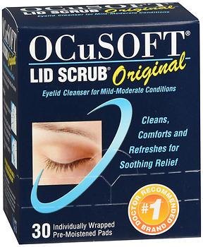 OCUSOFT LID SCRUB PADS      30