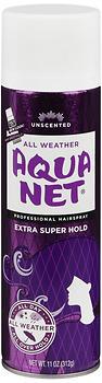 AQUA NET H/S AER X/SUP UN 11OZ
