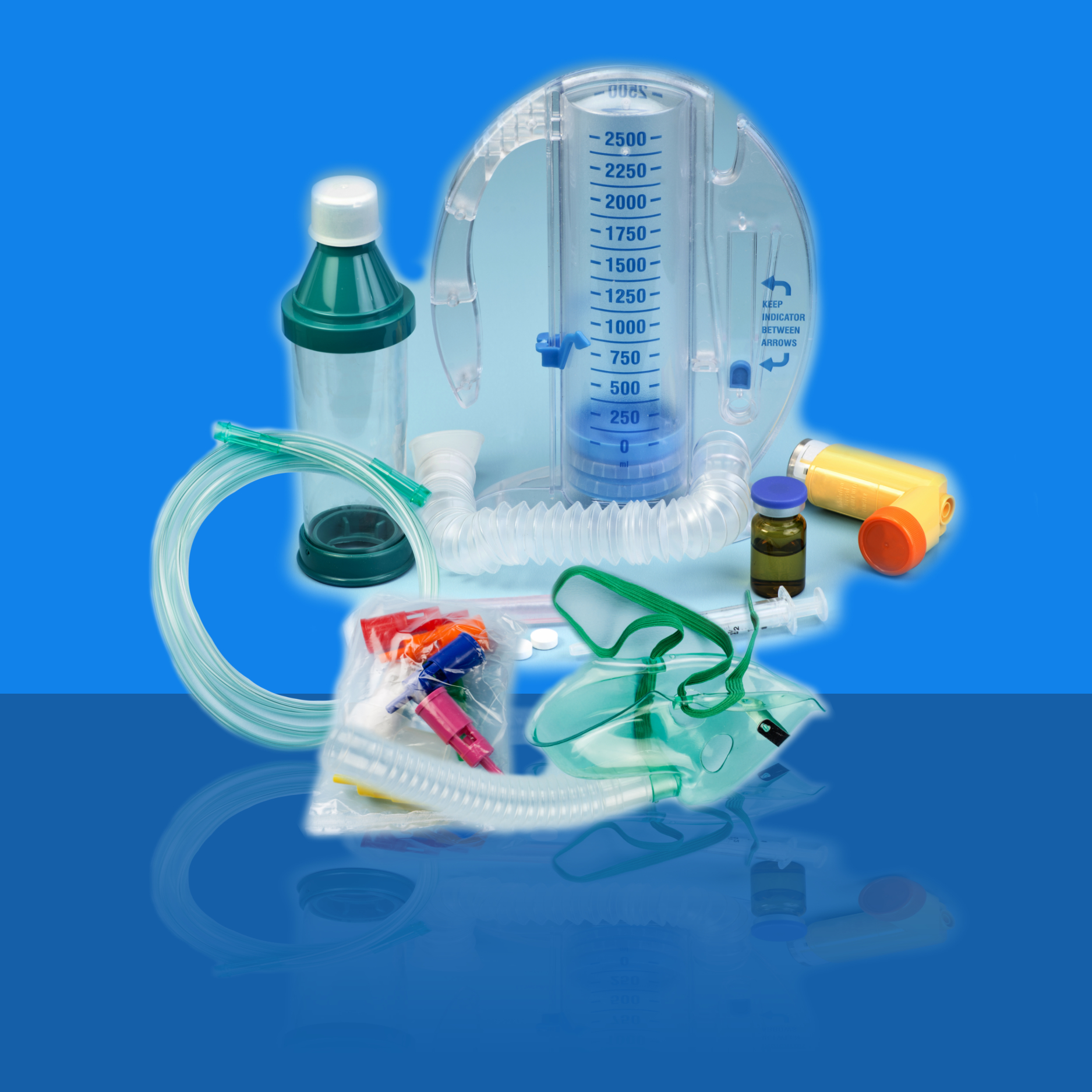 RESPIRATORY THERAPY AND OXYGEN