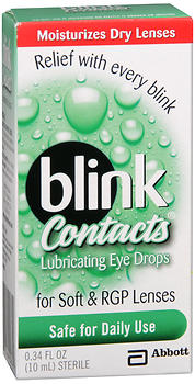 BLINK CONTACTS REWET DROP 10ML
