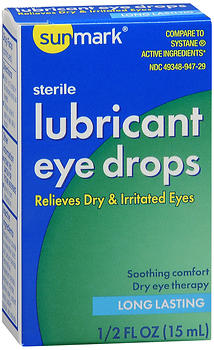 SM LUB EYE DROPS         0.5OZ