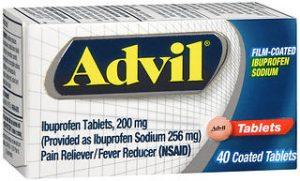 ADVIL FILM COAT TAB 40