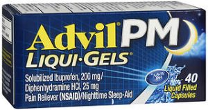 ADVIL PM LIQGEL 40