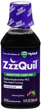 ZZZQUIL NT SLEEP AID BRRY 12OZ
