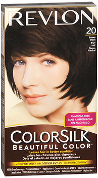COLORSILK BROWN-BLACK    20/2N